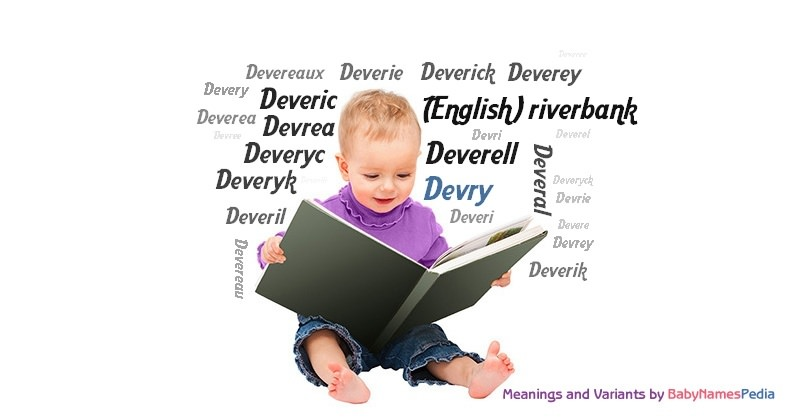 Meaning of the name Devry