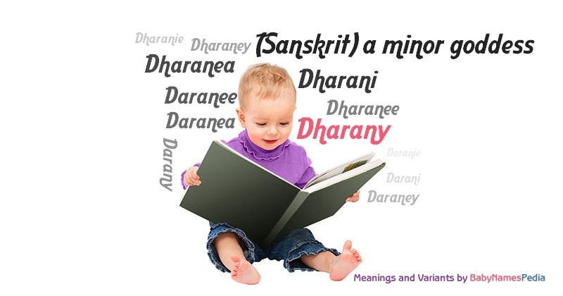 Meaning of the name Dharany