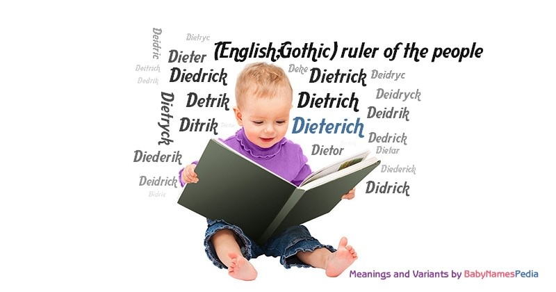 Meaning of the name Dieterich