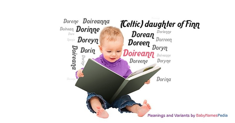 Meaning of the name Doireann