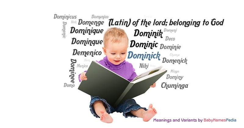 Meaning of the name Dominick