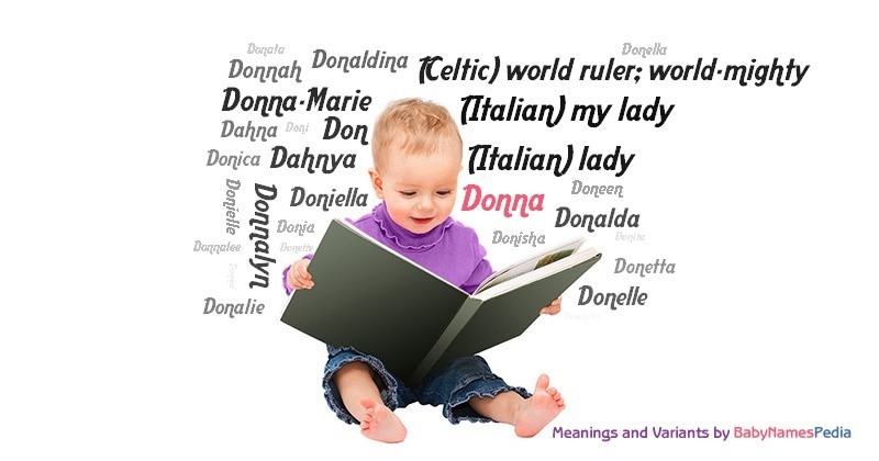 Meaning of the name Donna