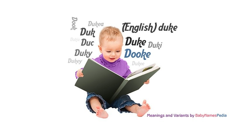 Meaning of the name Dooke