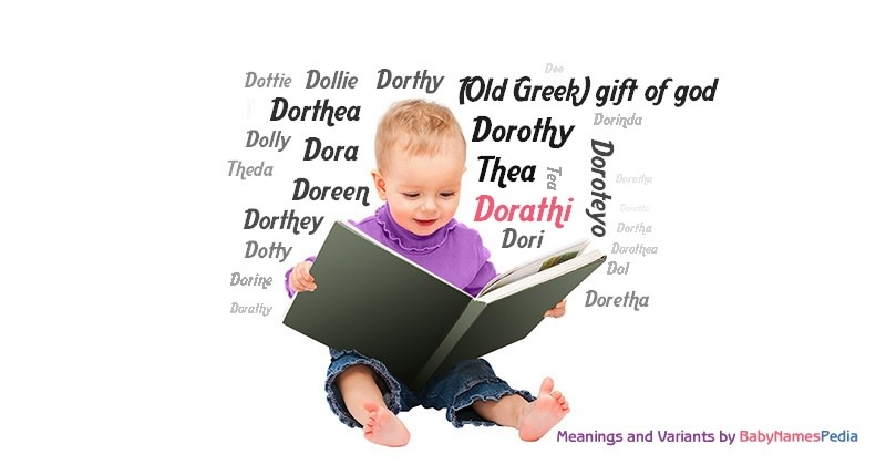 Meaning of the name Dorathi