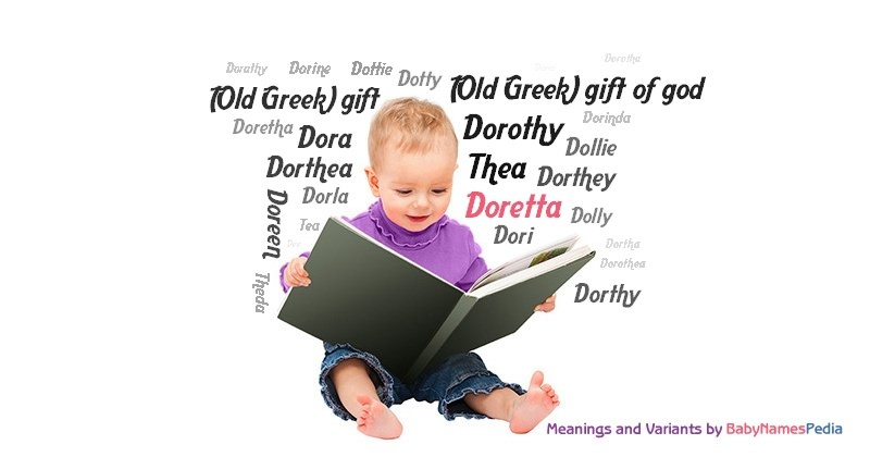 Meaning of the name Doretta