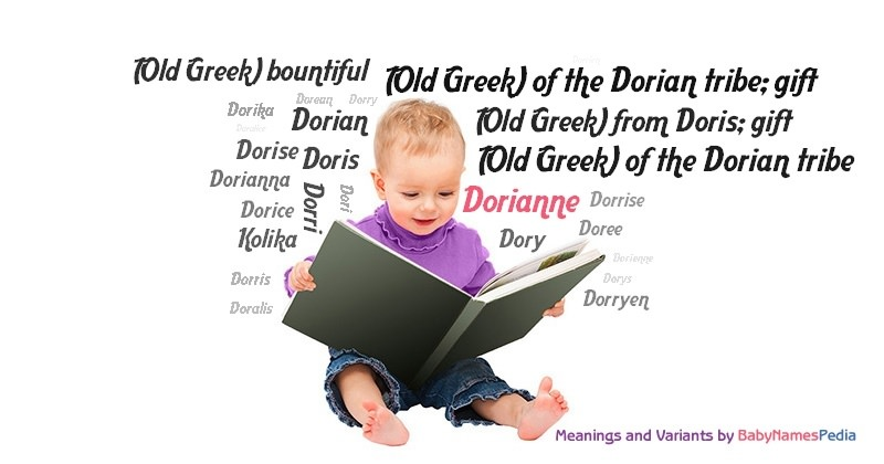 Meaning of the name Dorianne