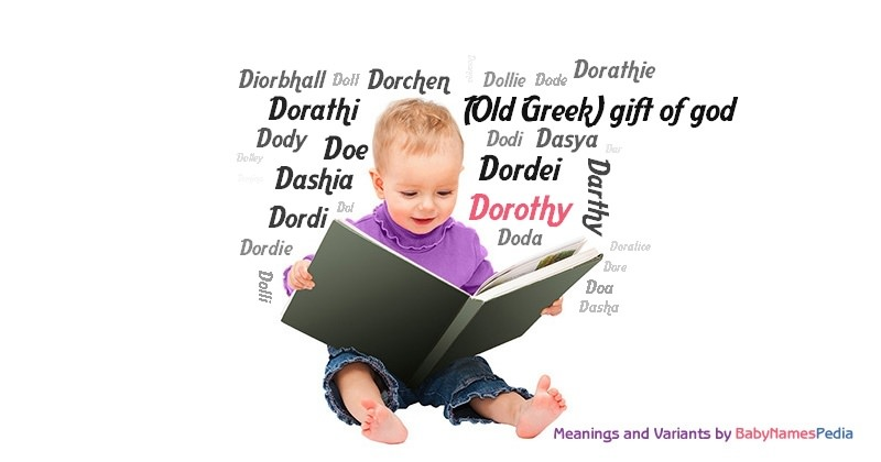 Meaning of the name Dorothy
