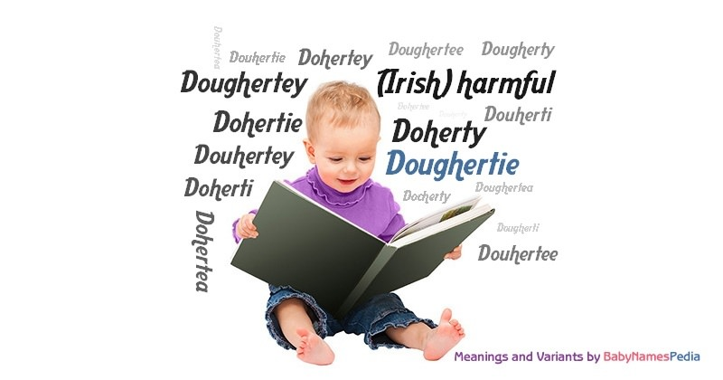 Meaning of the name Doughertie