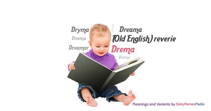 Meaning of the name Drema