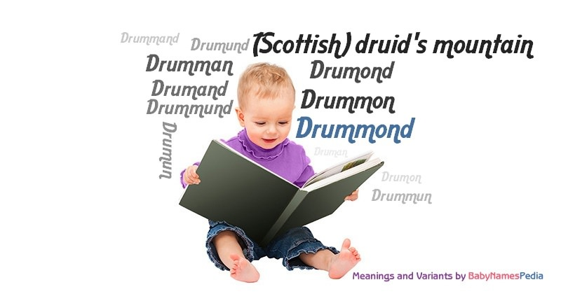 Meaning of the name Drummond
