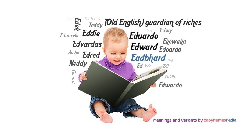 Meaning of the name Eadbhard