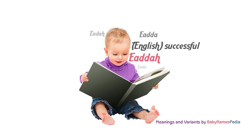 Meaning of the name Eaddah