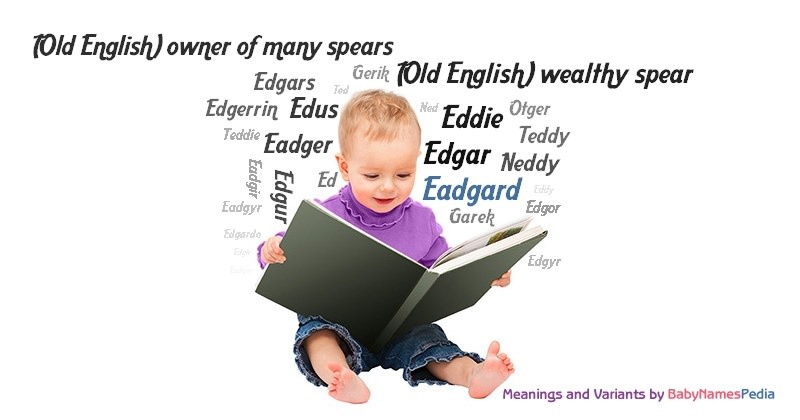 Meaning of the name Eadgard