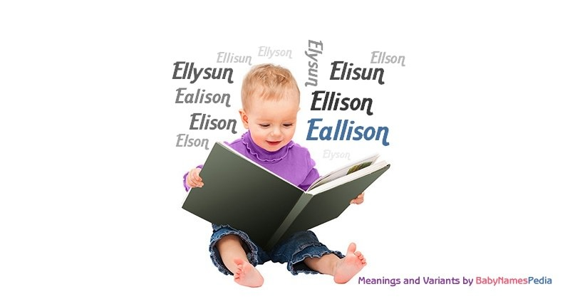 Meaning of the name Eallison