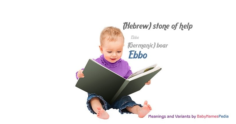 Meaning of the name Ebbo