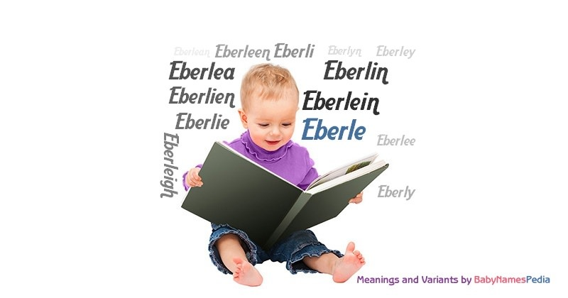 Meaning of the name Eberle