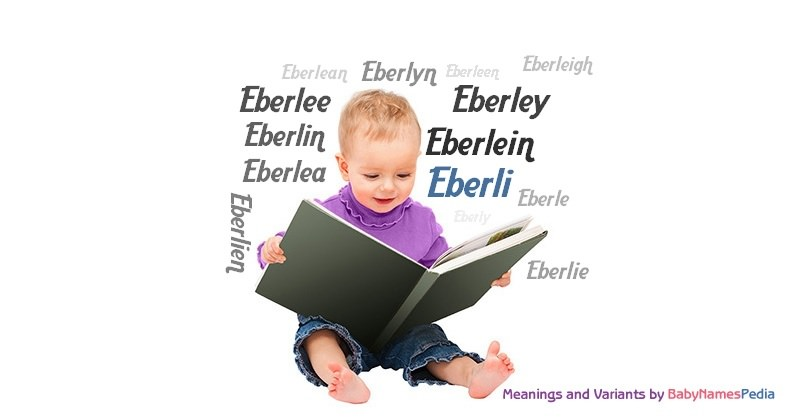 Meaning of the name Eberli