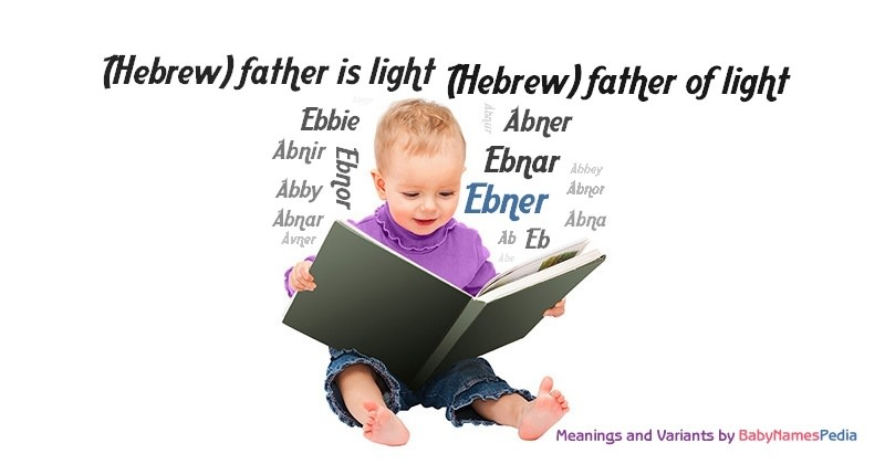 Meaning of the name Ebner