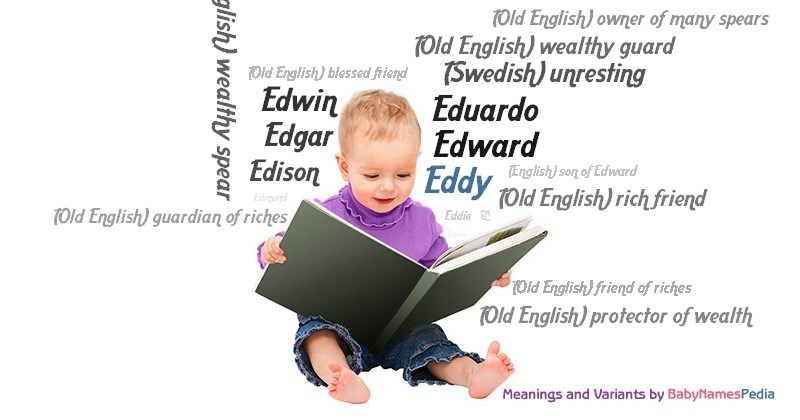 Meaning of the name Eddy