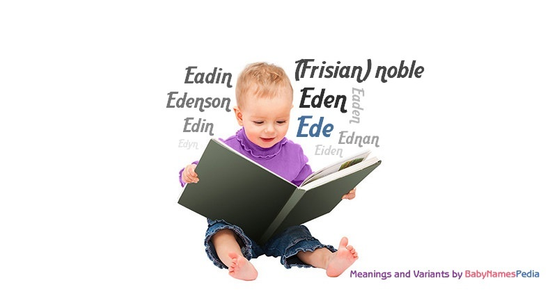 Meaning of the name Ede