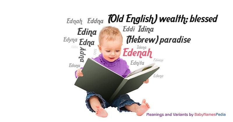 Meaning of the name Edenah