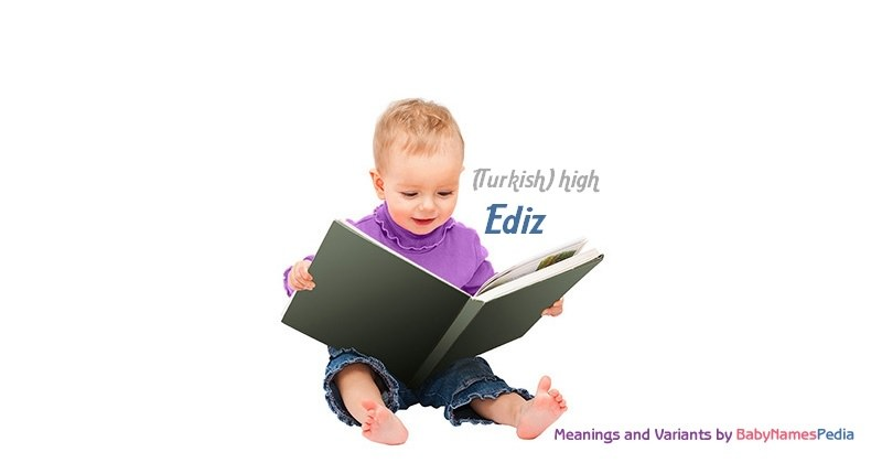 Meaning of the name Ediz