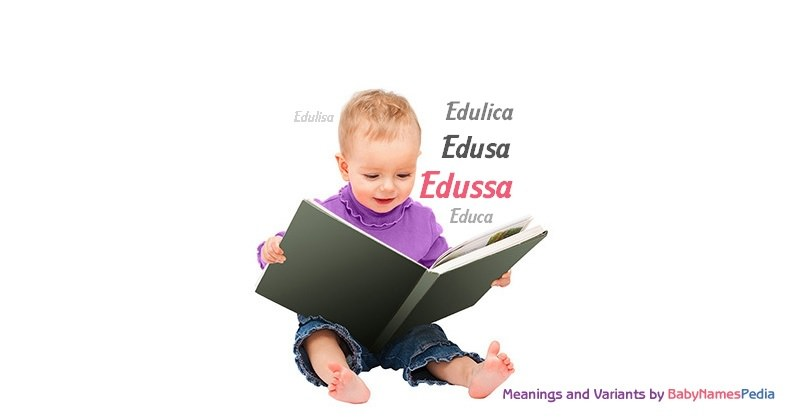 Meaning of the name Edussa