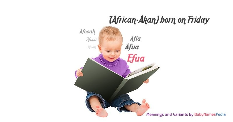 Meaning of the name Efua