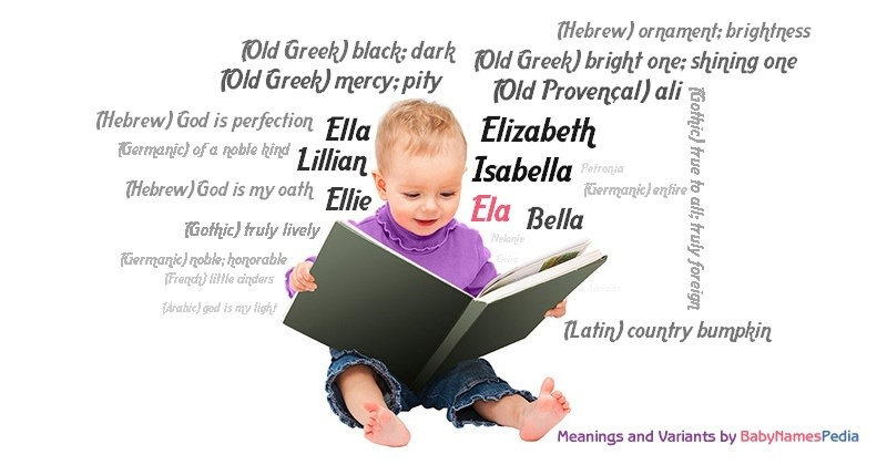 Meaning of the name Ela