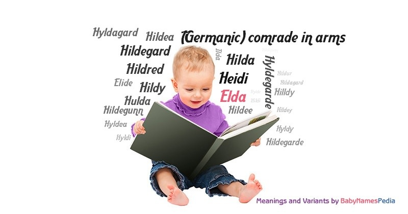 Meaning of the name Elda