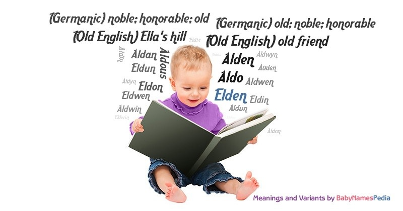 Meaning of the name Elden