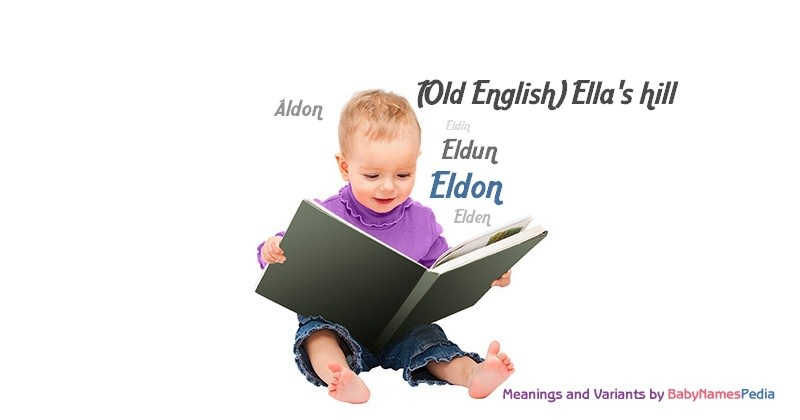 Meaning of the name Eldon