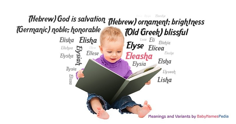 Meaning of the name Eleasha