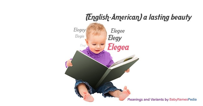 Meaning of the name Elegea