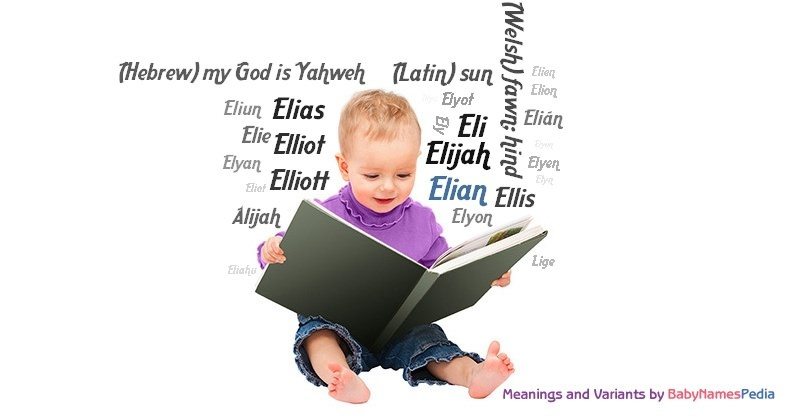 Meaning of the name Elian