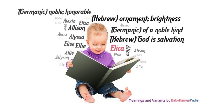 Meaning of the name Elica
