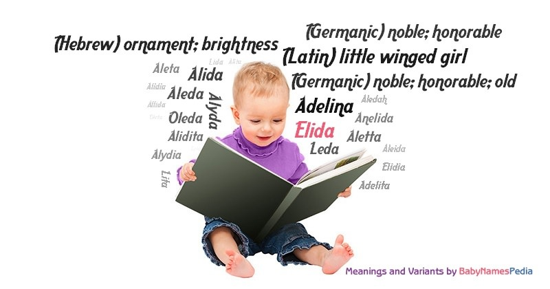 Meaning of the name Elida