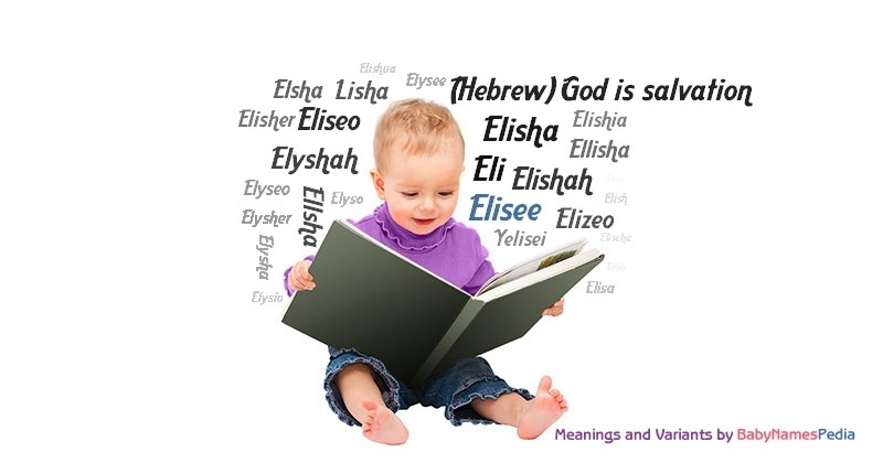 Meaning of the name Elisee