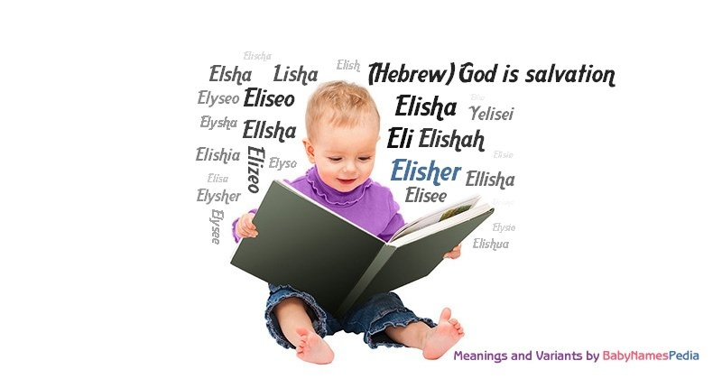 Meaning of the name Elisher