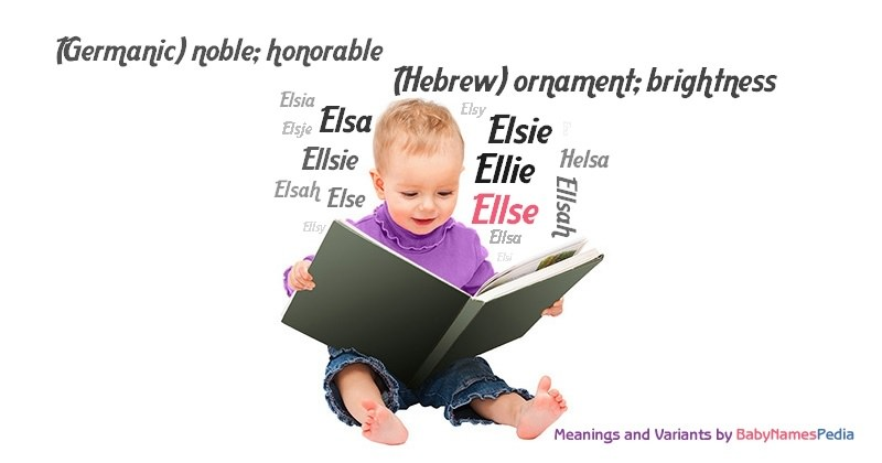 Meaning of the name Ellse