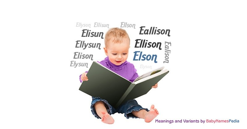 Meaning of the name Elson