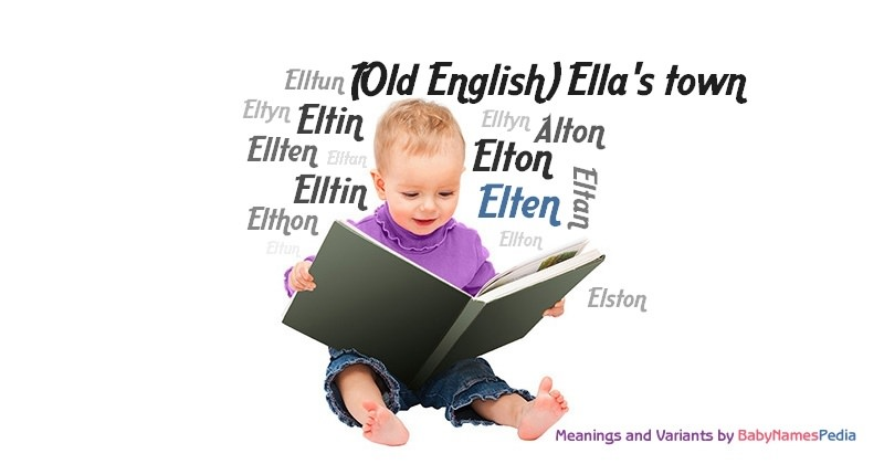 Meaning of the name Elten