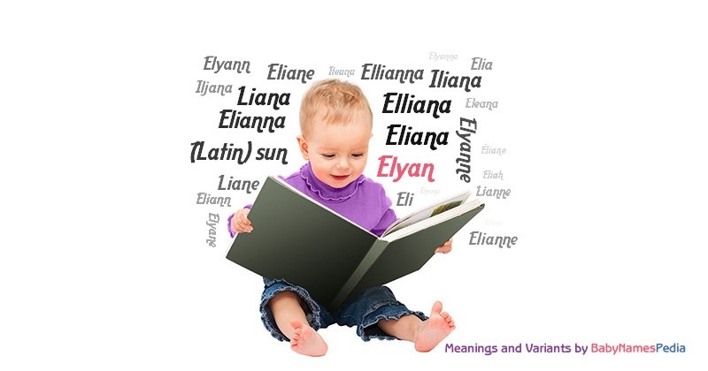 Meaning of the name Elyan