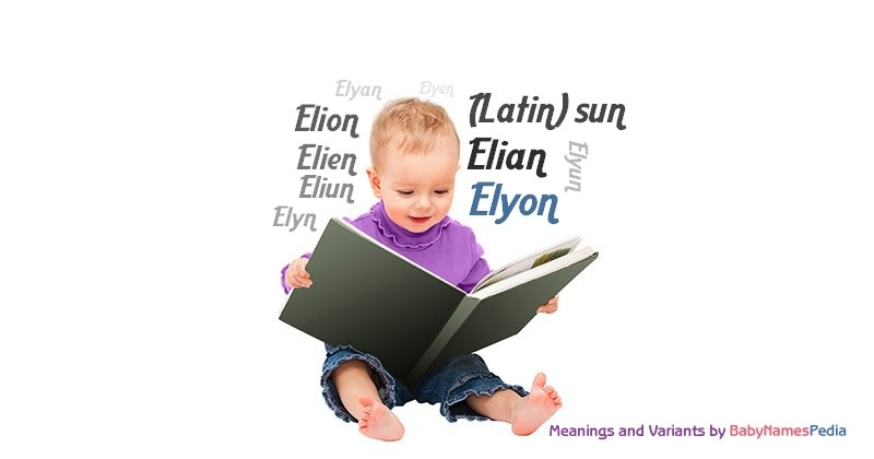 Meaning of the name Elyon