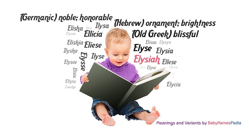 Meaning of the name Elysiah