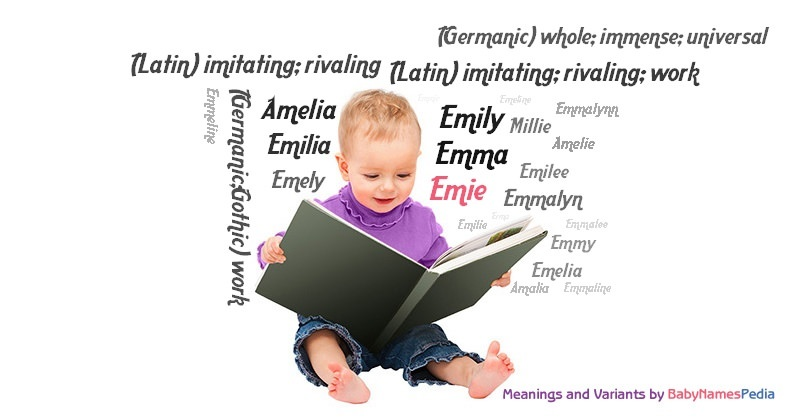 Meaning of the name Emie