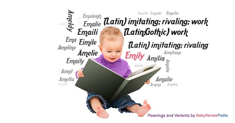 Meaning of the name Emily