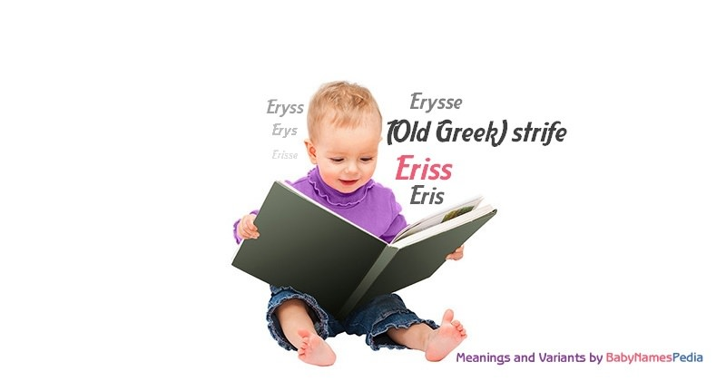 Meaning of the name Eriss
