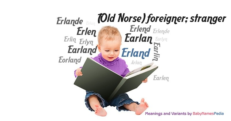 Meaning of the name Erland
