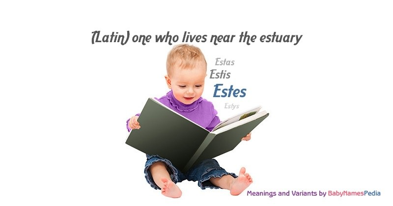 Meaning of the name Estes